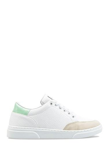 Benetton Bn30121 Kadın Spor Ayakkabı Beyaz
